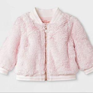Cat & Jack fizzy pink jacket 3-6 months